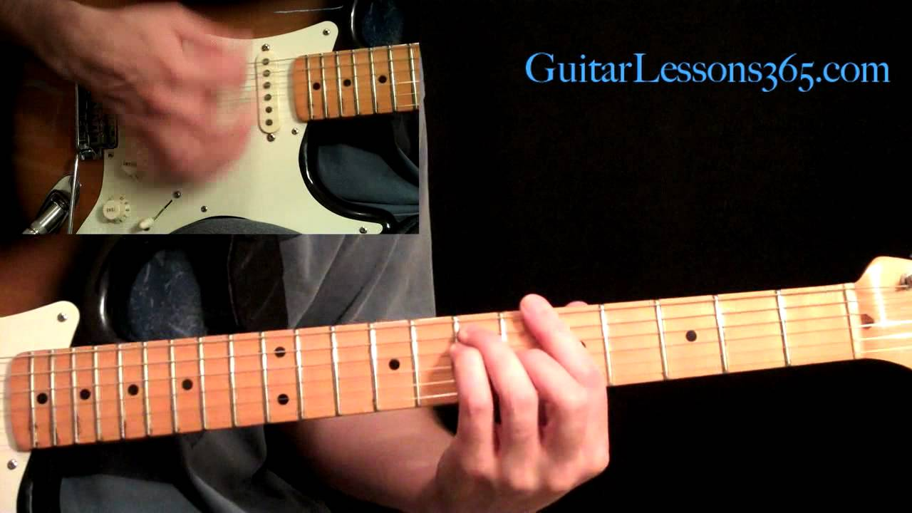 All Along The Watchtower Guitar Lesson Pt.1 - Jimi Hendrix - Intro