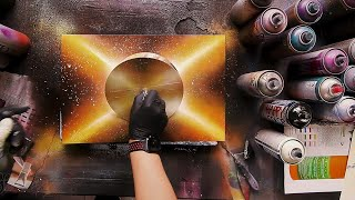 X-planet - SPRAY PAINT ART by Skech