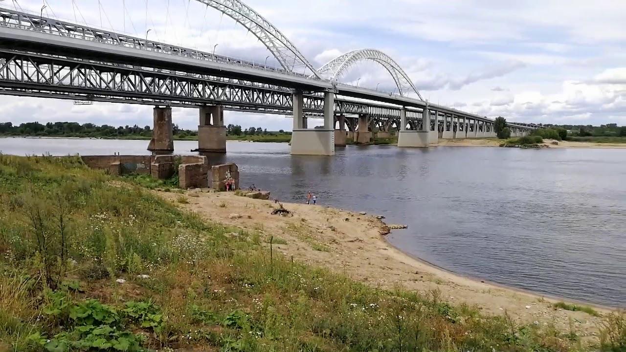 Рыбалка у мост в нижнем новгороде