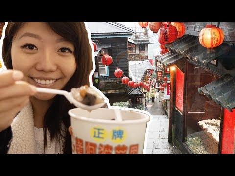 JIUFEN, TAIPEI - Eat at the CUTEST Street in Taiwan! 九份老街景點