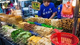 Taiwan Street Food Tour of Ningxia Night Market: AMAZING Taipei Night Market! (Day 8)
