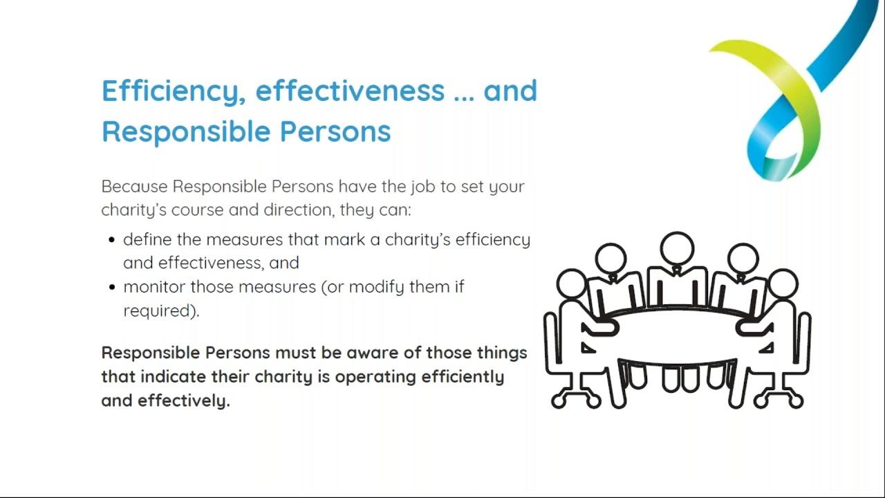Webinar - Running a charity: efficiency and effectiveness