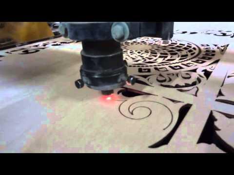 Лазерная резка фанеры на станке с ЧПУ Старт-2М