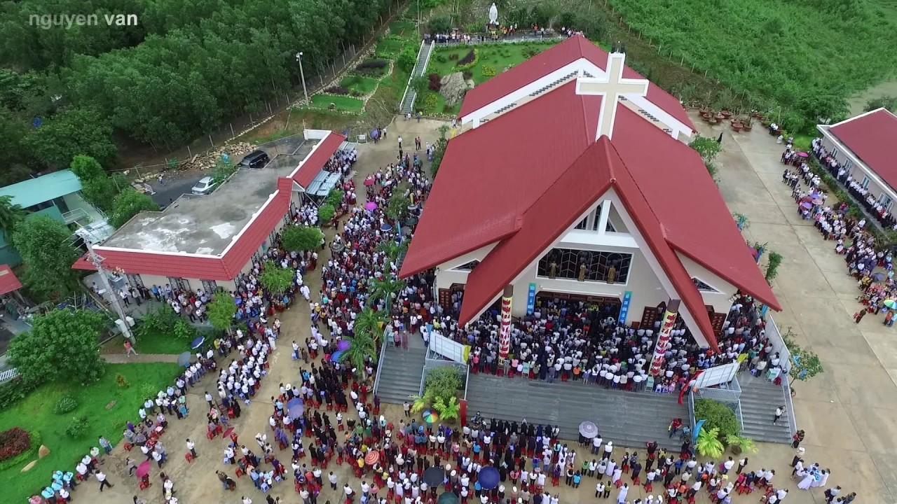 Ngày hành hương Mẹ Nhân Lành tại Khánh Vĩnh