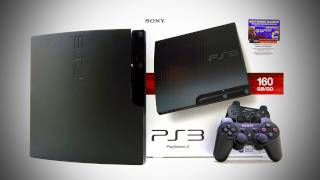 PS3 Slim Unboxing - PRICE DROP!