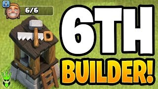 WE'RE FINALLY GETTING A 6TH BUILDER! - Clash of Clans