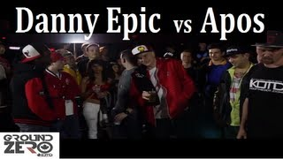 KOTD - GZ - Danny Epic vs Apos