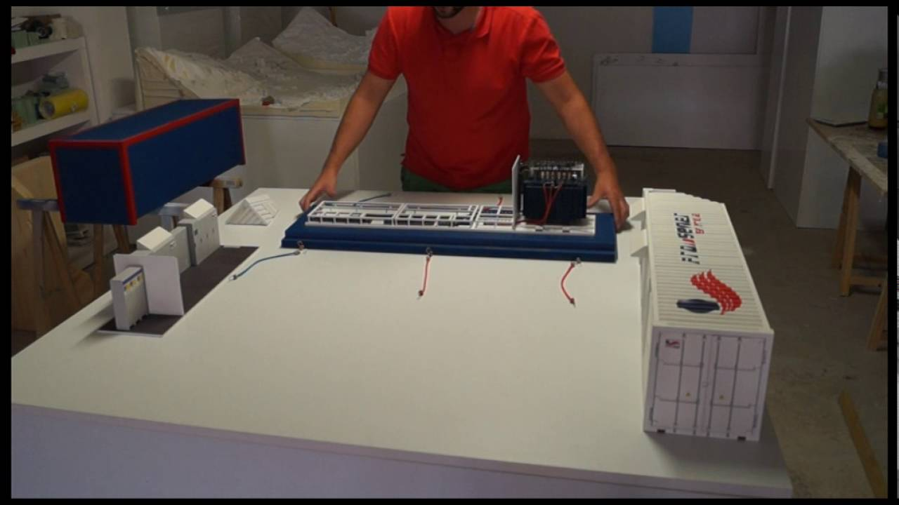 Desmontaje y montaje maqueta prototipo estaci n de - Maquetas y prototipos ...
