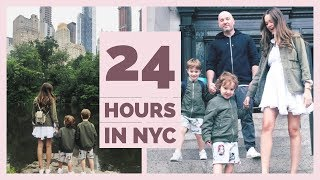 24 Hours in NYC | Family Vlog
