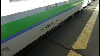 【音量注意】夕張行き普通列車。東追分信号場で特急とすれ違い+石勝線本線から夕張支線に入る
