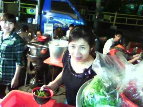 Night market in Chiayi city