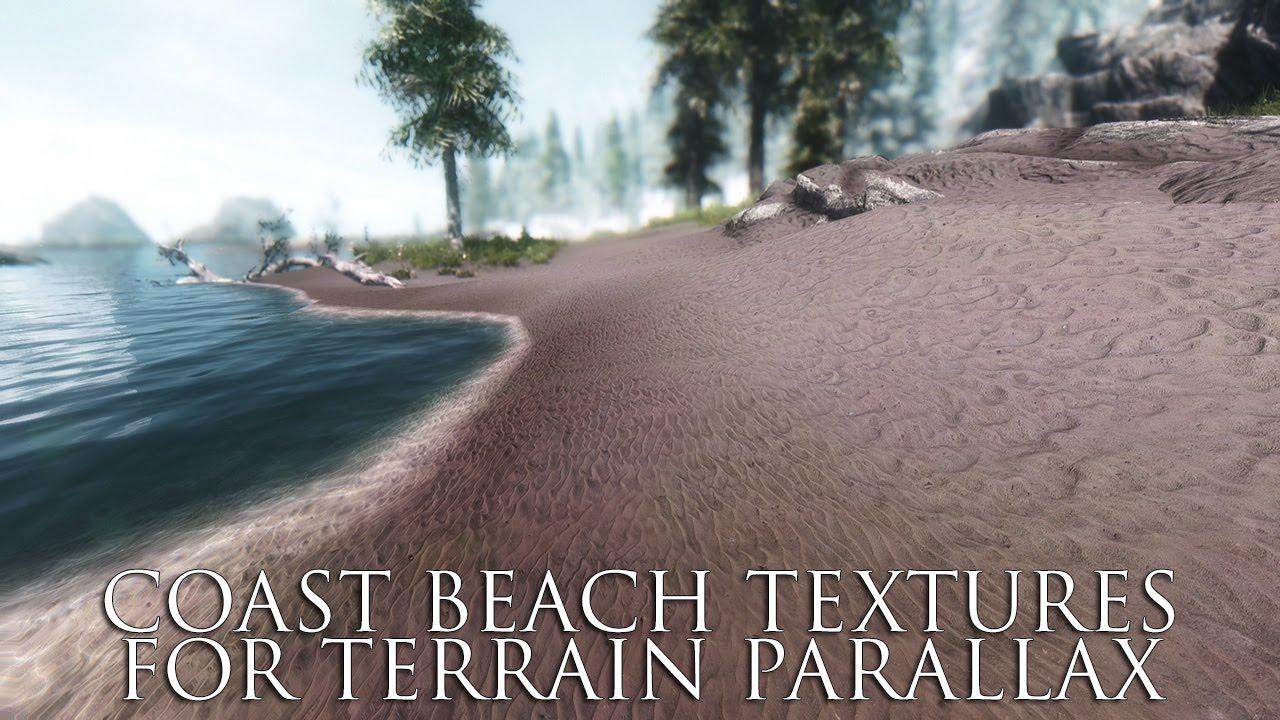 TES V - Skyrim Mods: Coast Beach Textures for Terrain Parallax