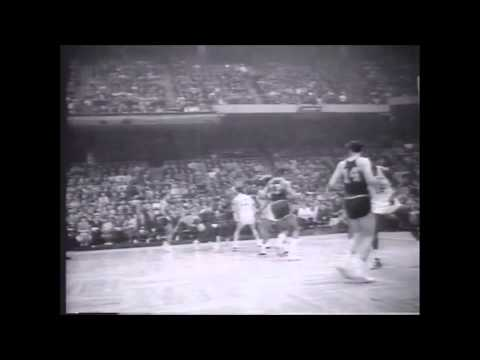 1964 NBA Finals. Boston Celtics vs San Francisco Warriors