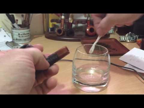 Preparing an estate pipe for first smoke