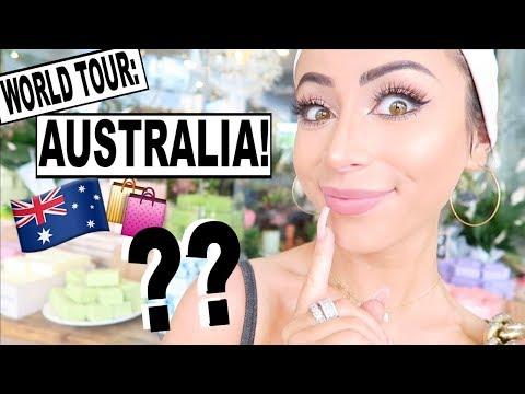 SHOPPING IN AUSTRALIA!