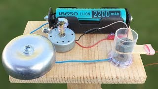 HOW TO MAKE MINI ALARM at HOME - VERY LOUD AND POWERFUL