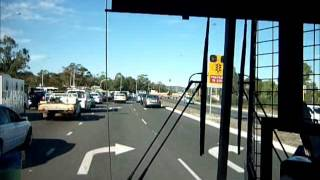 A ride on Transperth 1883 on semi-rural 52 route