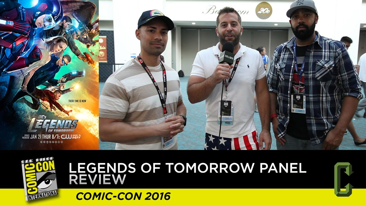 Download Legends of Tomorrow Panel Review - San Diego Comic-Con 2016