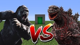 Minecraft Mod - Godzilla VS King Kong