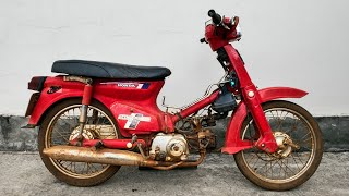 1978 Honda Super Cub C70 Full Restoration | Will It Run After 42 Years?