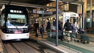 富山の路面電車、南北接続 新幹線駅を貫通