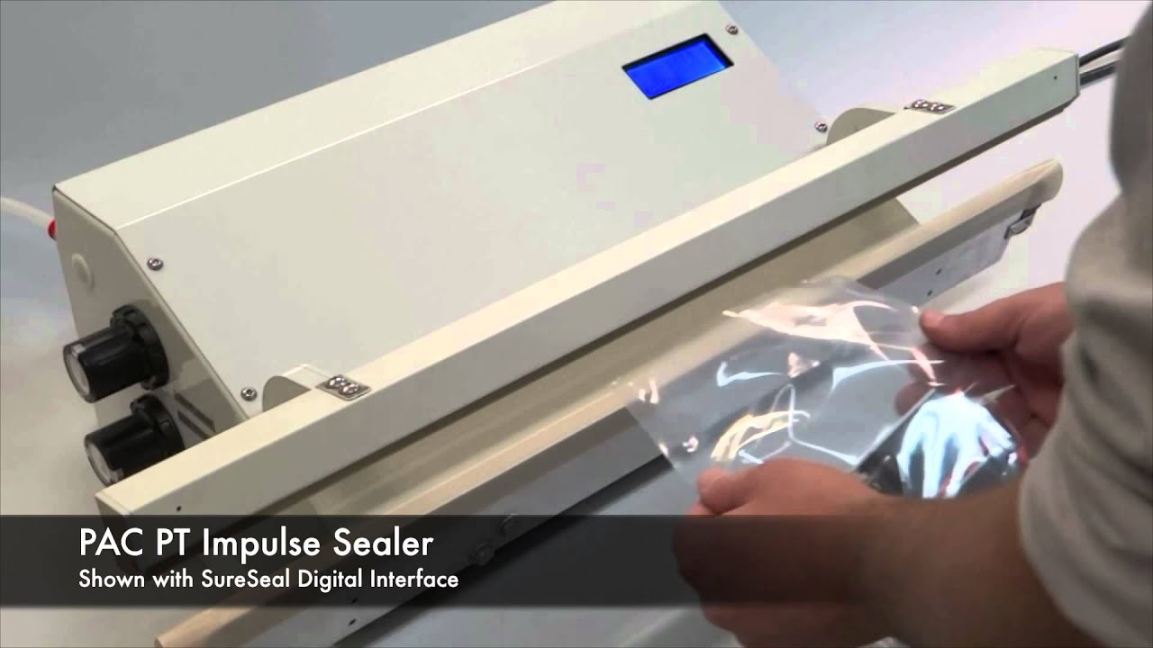 PAC PT Impulse Sealer - Packaging Aids