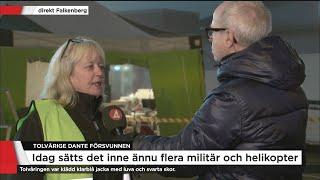 Missing people: Det är väldigt kallt men vi tror att Dante klarar sig - Nyheterna (TV4)