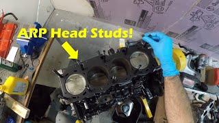 Gen4 3SGTE Engine Head Install with ARP Head Studs