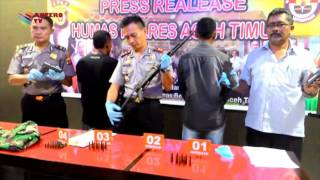 RAJA RIMBA MENYERAHKAN DIRI KE POLISI | KOMPAS NEWS ACEH 17/02/2016
