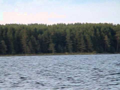 Пляж Онежского озера г.Медвежьегорск  Карелия
