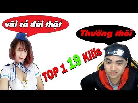 Lại được Mai Linh Zuto khen, phê quá bà con ơi l 19 kills TOP 1