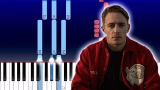 Dermot Kennedy - Outnumbered (Piano Tutorial)