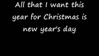 Watch music video: Hurts - All I Want for Christmas Is New Year's Day
