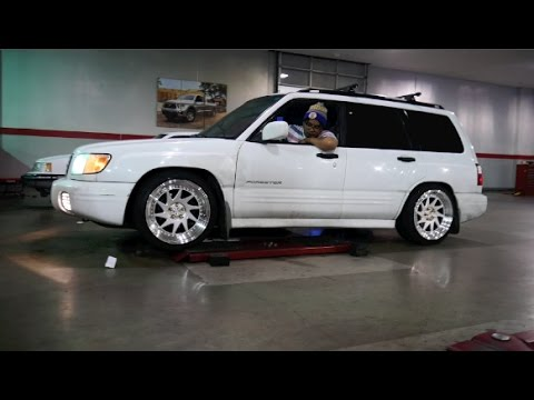 Subaru Forester Coilover Install