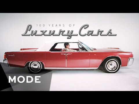 100 Years of Luxury Cars  ★  Mode.com