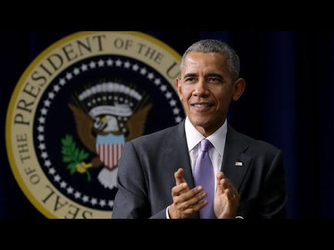 U.S. President Barack Obama holds annual year-end press conference LIVE