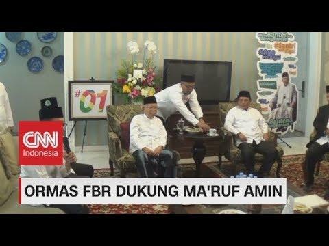 Ormas FBR Dukung Ma'ruf Amin