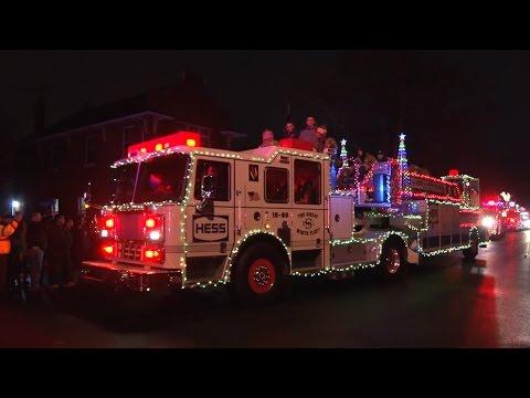 2015 Wallington,Nj Fire Department Holiday Parade