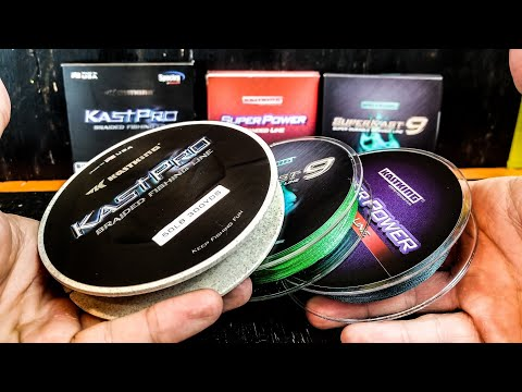 How To Choose Braided Fishing Line - FOR BEGINNERS (KastKing KastPro/SuperPower/SuperKast9 - 2018)