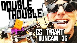 RUNCAM 3S and 2018 Diatone Tyrant - FIRST LOOK - Honest Review & Flights