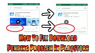 How To Fix Download Pending Problem In Playstore