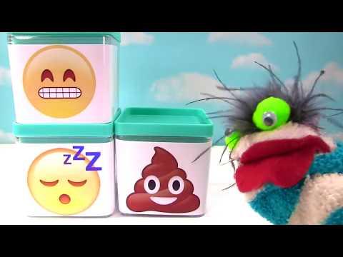 Wacky Emoji Wednesday! Emoji Buddiez   Plushi Palz Wacky Packages