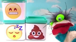 Wacky Emoji Wednesday! Emoji Buddiez Blind Bags Poop Plushi Palz Wacky Packages