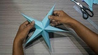 How to make star for christmas#DIY
