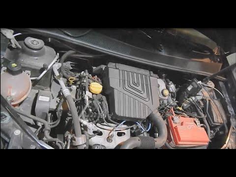 Renault Logan 1.6 K7M. Замена ГРМ, регулировка клапанов.