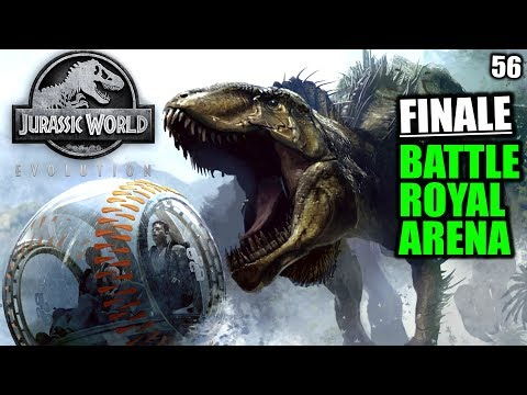 Jurassic World Evolution Deutsch #56 ► Finale: Battle Royal Arena ◄| Let's Play Gameplay German