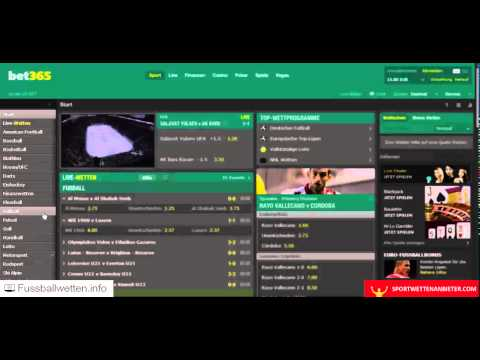 Video Sportwetten info