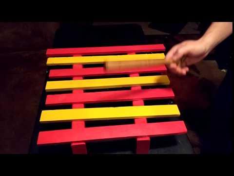 Wooden Xylophone Medium High
