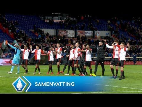 Highlights KNVB Beker: Feyenoord - PSV (31/1/2018)