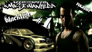 EP FINALE RAZOR-Need For Speed Most Wanted 2005 gameplay [ITA-PC-walktrough-webcam-commentary]